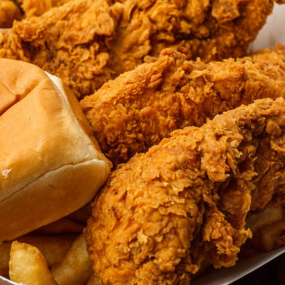 Fried Chick Filet Basket