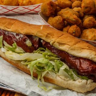 Sausage Po-Boy