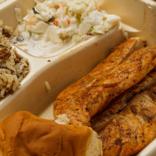 Grilled Chicken Breast Dinner