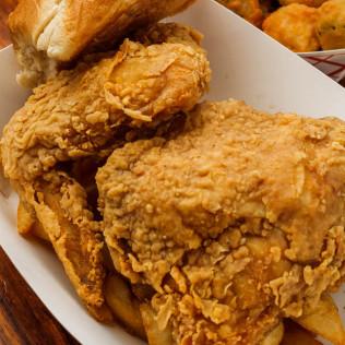 (2 pc.) Fried Chicken Dinner