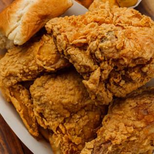 (4 pc.) Fried Chicken Dinner